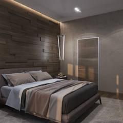 ХАРИЗМА ЛИДЕРА: Спальни в . Автор – GLAZOV design group концептуальная студия дизайна интерьеров,