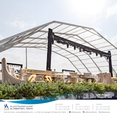Asian style event venues by AL FARES INTERNATIONAL TENTS Asian