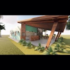 منزل ريفي تنفيذ Fabiane Franco Arquiteta