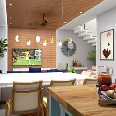 Dining room by Lozí - Projeto e Obra