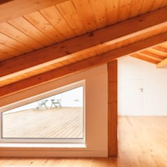 Roof by Boost Studio, Modern Wood Wood effect