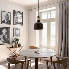 Dining Corner: Salas de jantar  por INTO Studio