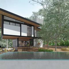 Pool by Quatro Fatorial Arquitetura e Urbanismo,