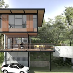 Houses by Quatro Fatorial Arquitetura e Urbanismo