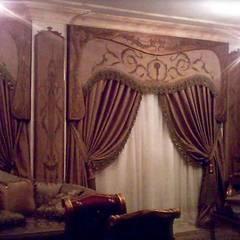 ستائر يدوي:  بلكونة أو شرفة تنفيذ روزادا مصرية