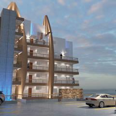 Rijtjeshuis door URBAO Arquitectos