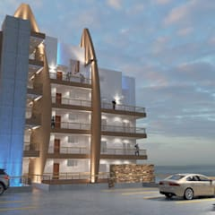 Terrace house by URBAO Arquitectos