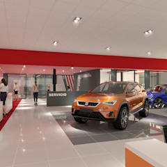 Car Dealerships by URBAO Arquitectos