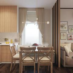 Small-kitchens by L.E.DESIGNINTERIOR