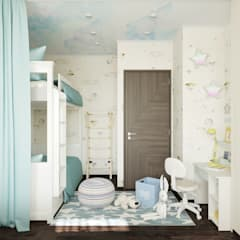 Teen bedroom by L.E.DESIGNINTERIOR