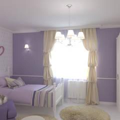 Kamar tidur anak perempuan by L.E.DESIGNINTERIOR