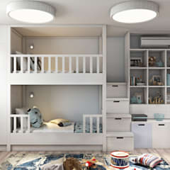 Phòng trẻ em by Дизайн студия Алёны Чекалиной