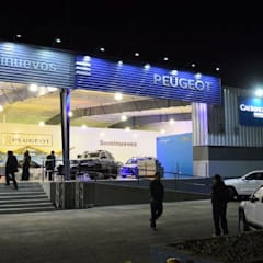 Car Dealerships by URBAO Arquitectos,