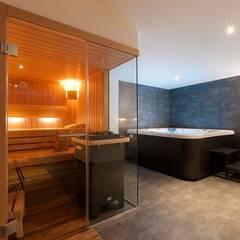 Hauseigener Spa-Bereich:  Sauna von TALBAU-Haus GmbH