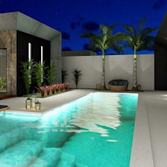 Garden Pool by ZM ARQUITETURA