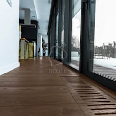 Podłogi Roble Gringo : styl , w kategorii Salon zaprojektowany przez Roble