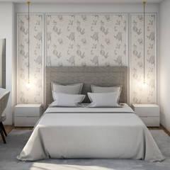 Apartamento Flamingo Quartos clássicos por Alma Braguesa Furniture Clássico Madeira Acabamento em madeira