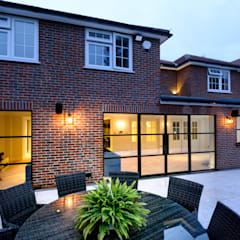Basement windows by IQ Glass UK, Modern Aluminium/Zinc