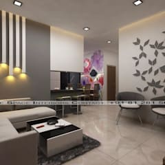 Living room by Future Space Interior