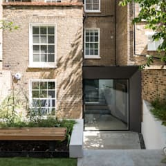 The Bevel Extension:  Terrace house by IQ Glass UK