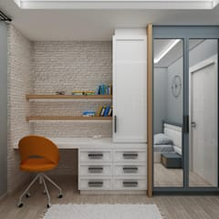 Teen bedroom by PRATIKIZ MIMARLIK/ ARCHITECTURE