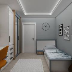 PRATIKIZ MIMARLIK/ ARCHITECTURE – UG Dairesi :  tarz Genç odası