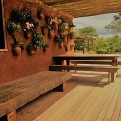Balcony by Cristina Szabo Designer de Bem-Estar
