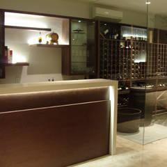 قبو النبيذ تنفيذ ebanisART Espacio y Concepto
