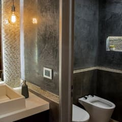 Phòng tắm by ARQCONS Arquitectura & Construcción