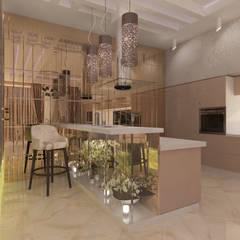 Cocinas equipadas de estilo  por Дизайнер Темненко Ольга