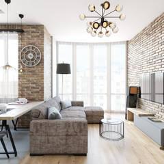 Loft:  Вітальня by IL Interior