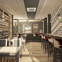 Спорт бар: Ресторации в . Автор – Дизайнер Темненко Ольга