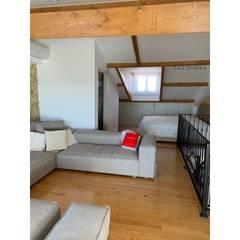 Apartamento T2 Estrela - Lisboa: Salas de estar  por EU LISBOA,Campestre