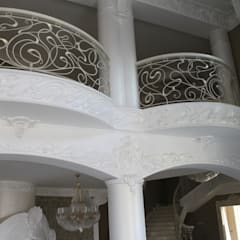 Модерн модерн: балконы в . Автор – Дизайнер Темненко Ольга