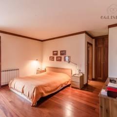 Apartamento T4 na Estrela - Lisboa: Quartos  por EU LISBOA
