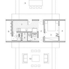 Pedro Ivo Fernandes | Arquiteto e Urbanistaが手掛けたバンガロー