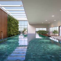 Infinity pool by Triple Arquitetura Inteligente