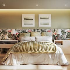 Dormitórios: Quartos  por Triple Arquitetura Inteligente