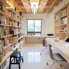Ruang Kerja oleh 直方設計有限公司, Skandinavia