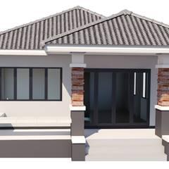 Small houses by บริษัท เรืองสุวรรณเฮ้าส์ จำกัด