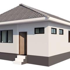 รับสร้าบ้าน ราคา 750,000.-บาท:  บ้านเดี่ยว by บริษัท เรืองสุวรรณเฮ้าส์ จำกัด