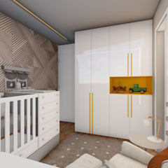Baby room by L.R. ARQUITETURA| OBRAS| INTERIORES, Modern