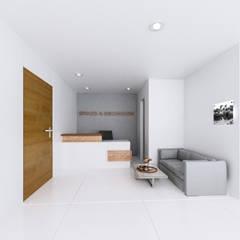 Oficinas y Tiendas de estilo  por Am arquitectura
