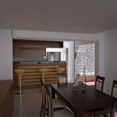Casa prados del norte,cali: Comedores de estilo  por Am arquitectura