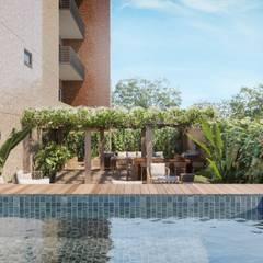 Terraços e Sacadas: Piscinas de jardim  por Triple Arquitetura Inteligente