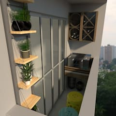 Balkon by L.R. ARQUITETURA| OBRAS| INTERIORES