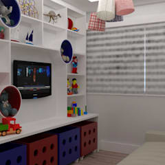 Nursery/kid's room by L.R. ARQUITETURA| OBRAS| INTERIORES