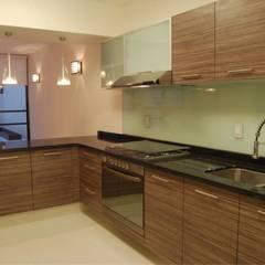 Cocinas Integrales sobre Diseño Modulform: Cocinas equipadas de estilo  por GREAT+MINI