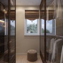 Частный дом с бассейном: Гардеробные в . Автор – ЭлитДизайн - студия интерьера