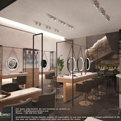 memarchitect design studio – Beauty salon:  tarz Zeminler